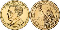 Etats Unis d´Amérique 1 Dollar Woodrow Wilson - 2013 D Denver