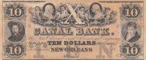 Etats Unis d´Amérique 10 Dollars Canal Bank 18xx - Personnages, chérubins - Série C