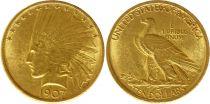 Etats Unis d\'Amérique 10 Dollars Tête Indien - Aigle 1907 - Or