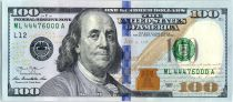 Etats Unis d\'Amérique 100 Dollars Franklin -  L12 San Francisco - 2013