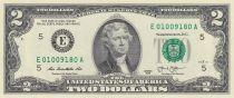 Etats Unis d\'Amérique 2 Dollars Jeffesrson - 2013 - E5 Richmond