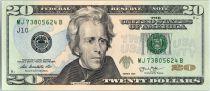 Etats Unis d´Amérique 20 Dollars Jackson - Maison Blanche 2013 - J10