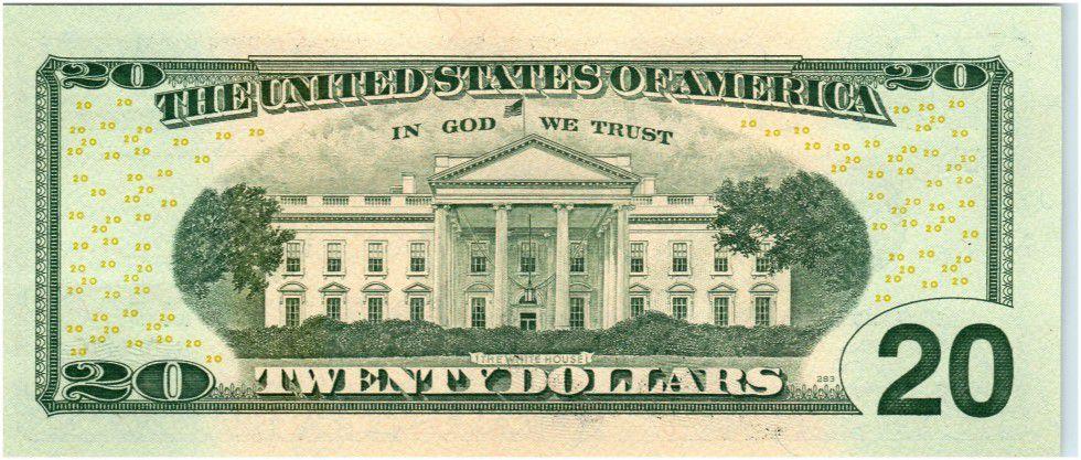 Etats Unis d´Amérique 20 Dollars Jackson - Maison Blanche 2013 D4 Cleveland