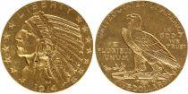 Etats Unis d\'Amérique 5 Dollars - Tête Indien - Aigle 1908 à 1929
