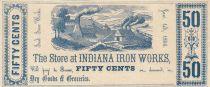 Etats Unis d´Amérique 50 Cents 1856 - Indiana Iron Works