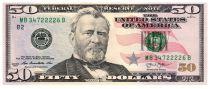 Etats Unis d´Amérique 50 Dollars Grant - Capitol 2013 B2 New York