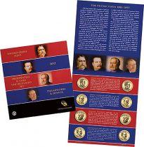 Etats Unis d´Amérique BU.2012 8 Dollars, Série BU Présidents 2012 D et P