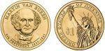 Etats Unis d´Amérique KM.429 1 Dollar, Martin Van Buren - 2008