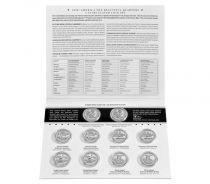 Etats Unis d´Amérique Lot 10 x $¼ 2018 Parcs Nationaux, 5x D (DENVER) + 5x P (PHILADELPHIE)