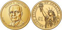 Etats Unis d´Amérique New.2015 1 Dollar, Harry Truman - 2015 P Philadelphie