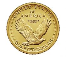 Etats Unis d´Amérique NEW.2016 1/4 Dollar, Standing Liberty Quarter Centennial Gold Coin 2016