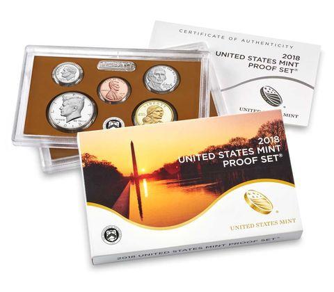 Etats Unis d´Amérique USA Coffret Proof complet 2018S - 10 pièces
