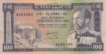 Ethiopia 100 Dollars Haile Selassié - Lion - 1966 - VF - P.29 - A.497582