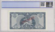 Ethiopia 50 Dollars H. Selassie - Dam - PCGS 68 OPQ