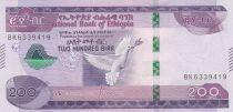 Ethiopie 200 Birr Colombe - 2012-2020 - Neuf
