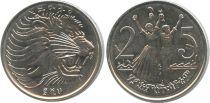 Ethiopie 25 Cent