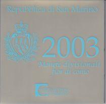 Europe BU Set San Marino 2003 - 9 Coins in Euro