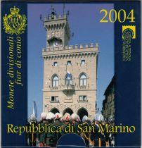 Europe BU Set San Marino 2004 - 9 Coins in Euro