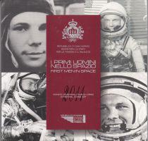 Europe BU Set San Marino 2011- 9 Coins in Euro - First man in Space
