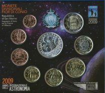 Europe Coffret BU Astronomie San Marin 2009