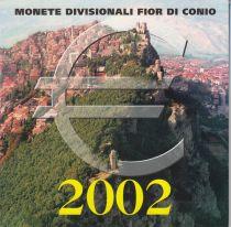 Europe Coffret BU San Marin 2002 - 8 Monnaies