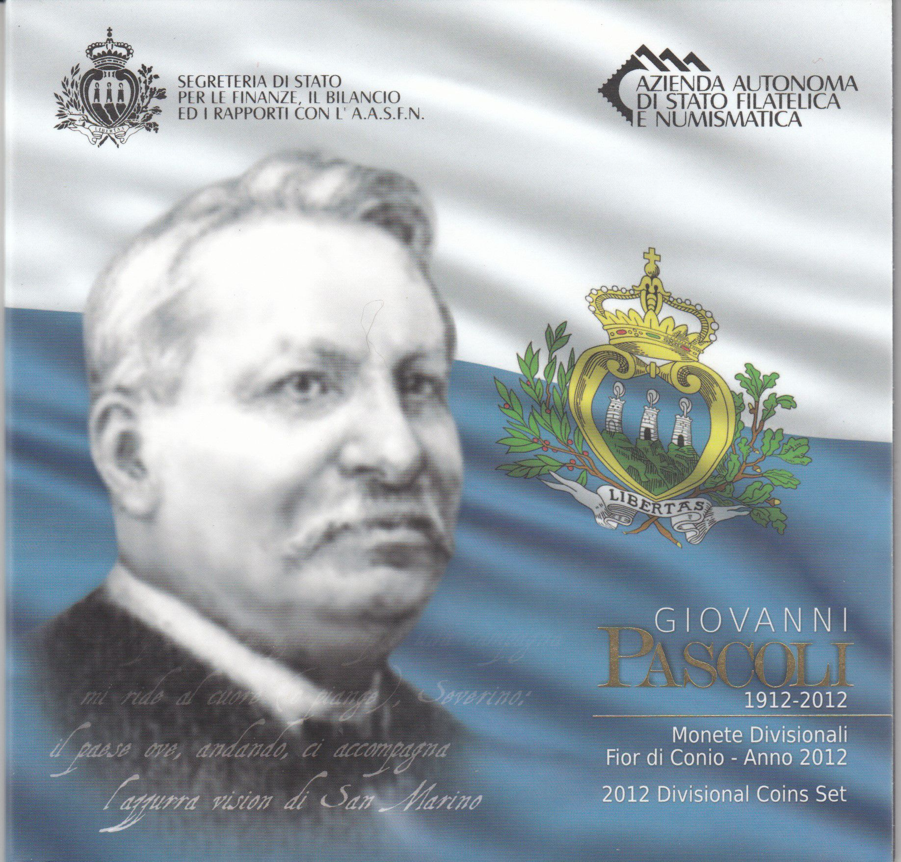 Europe Coffret BU San Marin 2012 - 9 Monnaies