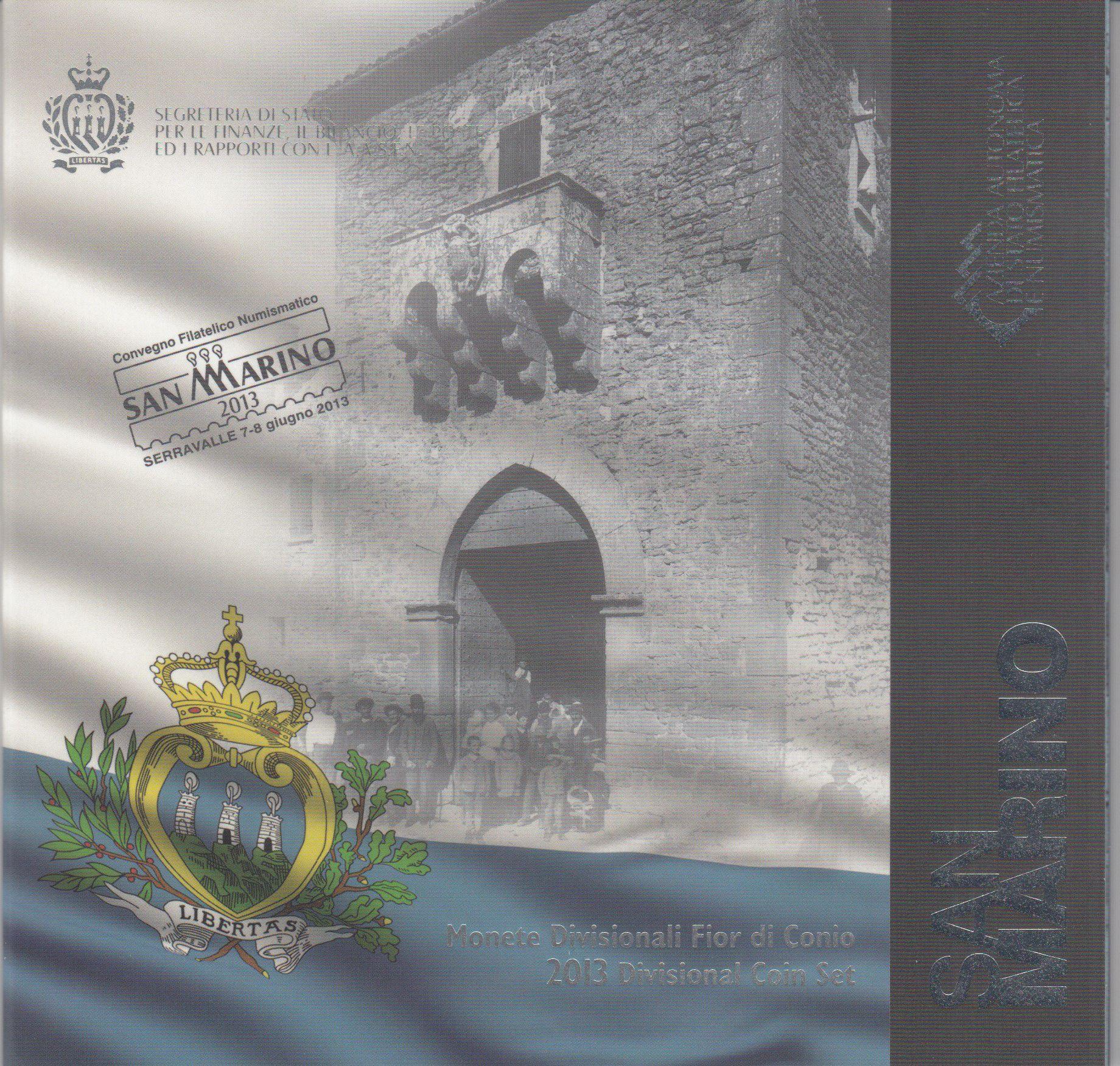 Europe Coffret BU San Marin 2013 - 8 Monnaies