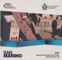 Europe Coffret BU San Marin 2014 - 8 Monnaies