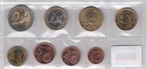 Europe Série de 8 monnaies de 1 centime à 2 euro 2007