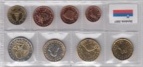 Europe Set of 8 coins - 1 cent to 2 euro 2007