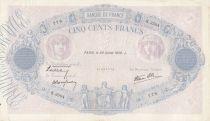 F.31.37 P.88 500 Francs, Rose et Bleu - K.3504 - 1939