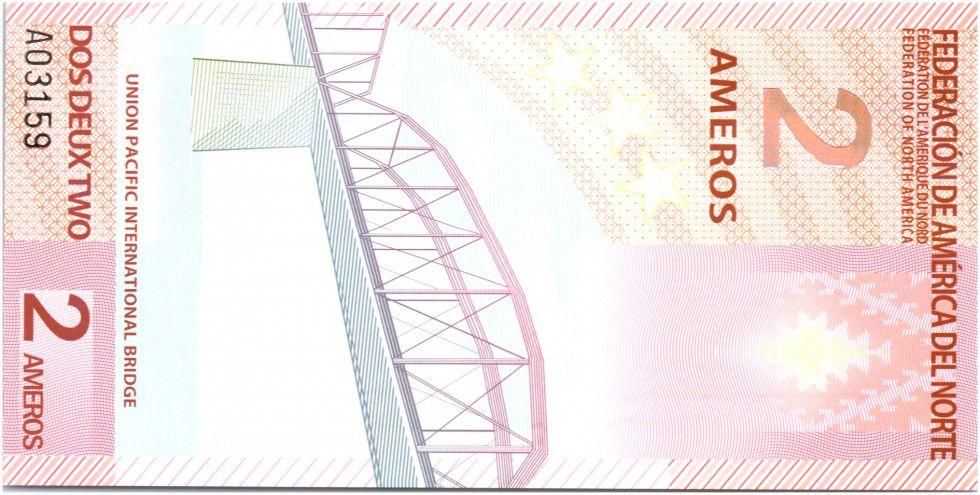 Fédération d\'Amérique du Nord 2 Ameros, Union Pacific International Bridge - 2011
