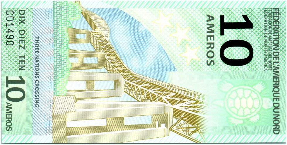 Federation of North America 10 Ameros, 3 Nations Crossing (Bridge) - 2011