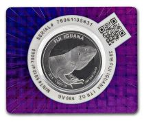 Fidji 1 Dollar Iguane - 1 Once Argent 2015