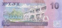 Fidji 10 Dollars Poisson - Grand Hotel Pacifique - 2013