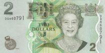 Fidji 2  Dollars - Elisabeth II - Enfants - 2007