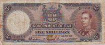 Fidji 5 Shilling George VI - 1941