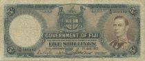 Fidji 5 Shilling George VI