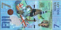Fidji 7 Dollars, Médaille d\'Or de Rugby 2016 - Jeux de Rio - 2017