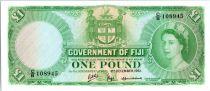 Fiji 1 Pound Elizabeth II - 1961