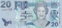 Fiji 20 Dollars Elizabeth II - Logging - 20017