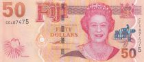 Fiji 50 Dollars Elizabeth II - Ceremonial of Tabua - 2007