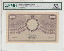 Finland 10 Markkaa - 1909 (ND 1918) - PMG 53