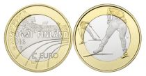 Finland 5 Euro, Cross-country ski - 2016