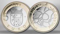 Finland 5 Euros Tavastia - 2011