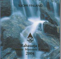 Finland UNC Set Finland 2004 - 8 euro coins