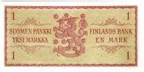 Finlande 1 Markka Epis de blé - 1963