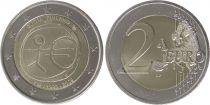 Finlande 2 Euro 10 ans de l\'UEM  - 2009
