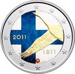 Finlande 2 Euro 2011,  200 ans Banque de Finlande