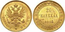 Finlande 20 Markka Aigle à 2 têtes - 1903 L